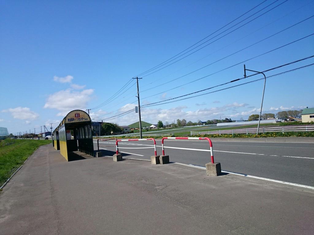 札幌市東区。何もない。