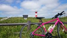 石狩灯台までサイクリング