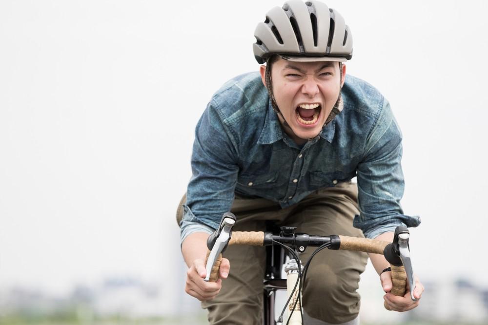 自転車通勤を始めて風を切るのがやみつき