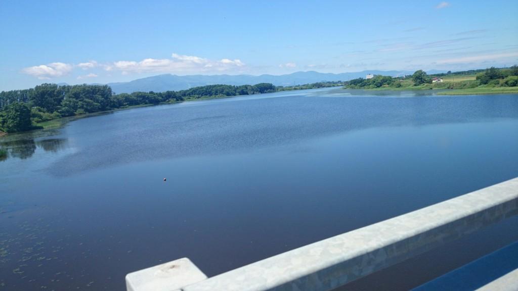 真勲別川にかかる生振大橋