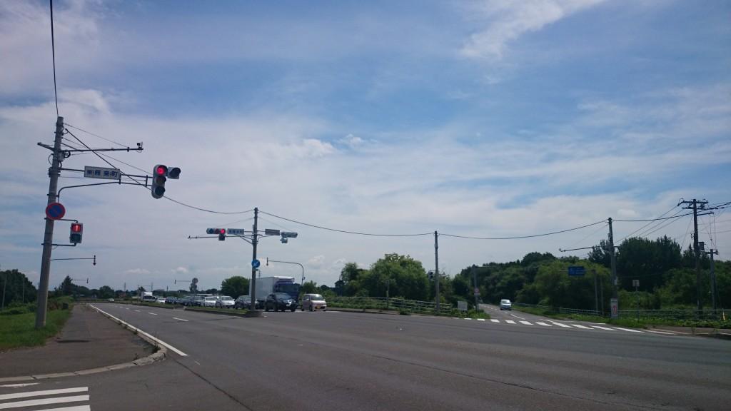 札幌近郊サイクリングで江別へ行くために東雁来を通る