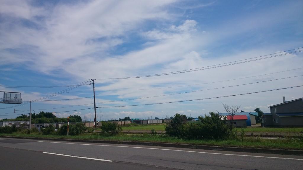 札幌近郊サイクリングコースで、風景がキレイ
