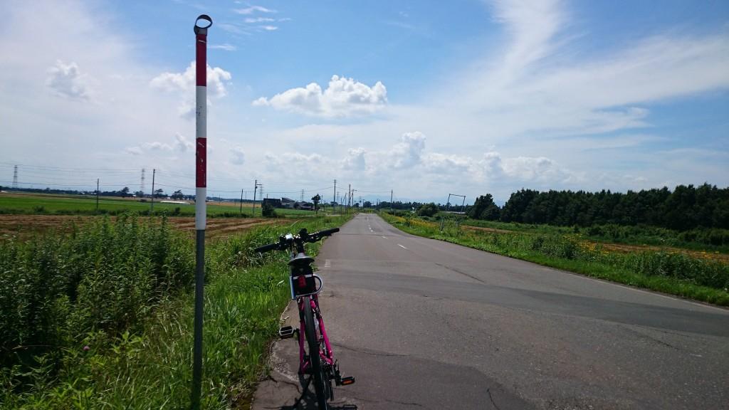 クロスバイクCYLVA F24で篠津まで来たけど、迷子。