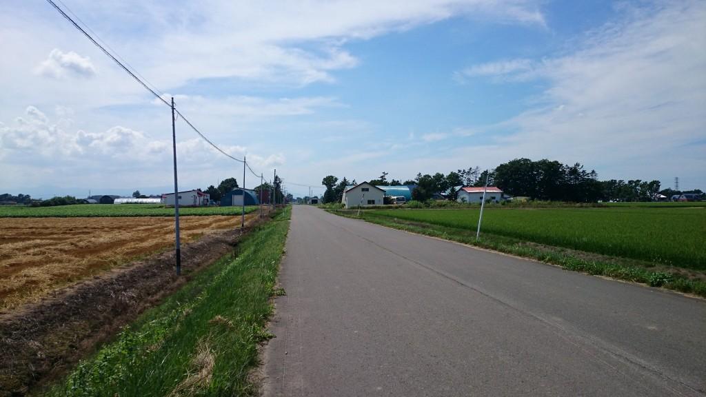 クロスバイクで江別直売スタンプラリーの途中。迷子になる。