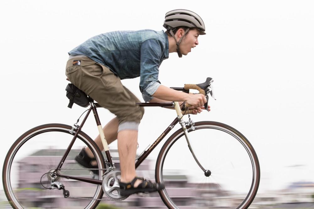 自転車にのる爽快感