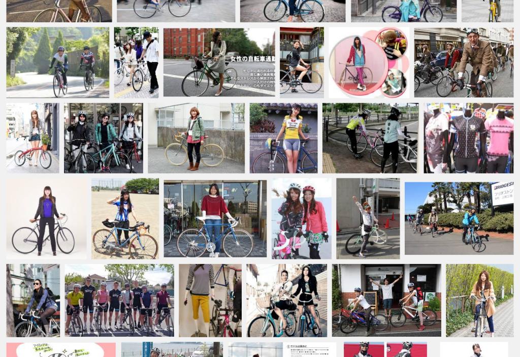 サイクリング 女性 服装 Google 検索