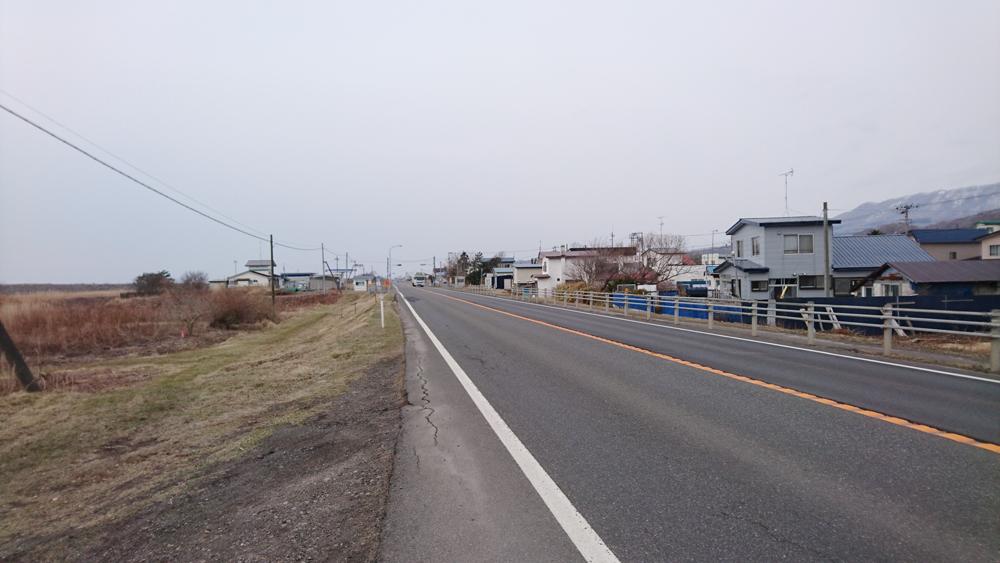 ロードバイクで苫小牧から室蘭へ行く途中に見つけた道路は復路は危ないかもね
