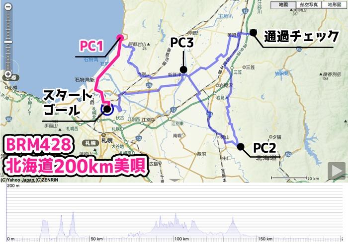 BRM美唄200km-PC1
